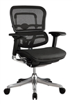 Ergo Elite Mid Back Mesh Office Chair ME5ERGLTLOW by Eurotech
