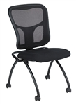Armless Flip Series Nesting Chair NT1000 by Eurotech
