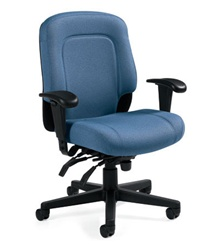 Saxon Office Chair 2512 3 By Global Office Furniture Deals