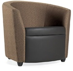 Sirena Two Tone Lounge Chair 3371LF by Global
