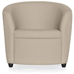 Sirena Series 3 Piece Leather Lounge Seating Set by Global