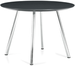 Wind Series Contemporary Round End Table 3860 by Global