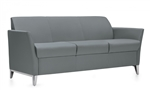 Global Total Office 3 Seat Camino Series Reception Sofa