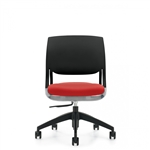 Global Novello 6401 Modern Armless Swivel Chair