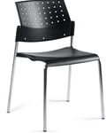 Sonic Guest Chair 6508 by Global