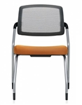 Global Spritz 6764 Mesh Back Side Chair with Flip Up Seat