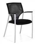 Mesh Back Zooey Side Chair 8585 by Global