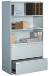 9300 Multi Stor Exhibit Cabinet 9336P-5FX by Global