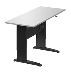 Manual Height Adjustable Sit to Standing Table HTM2446 by Global Total Office