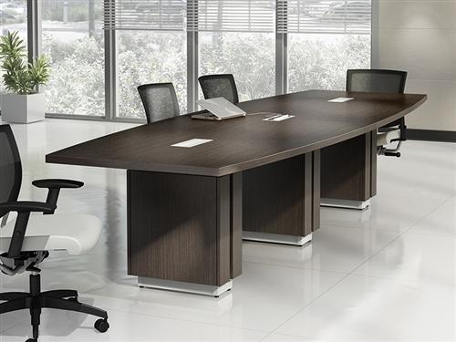 Z48120be Zira Series Rectangular Boardroom Table By Global