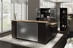 Zira Luxurious Modern Reception Desk by Global Total Office