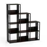 Mayline SOHO Series 3-Tier Designer Bookcase
