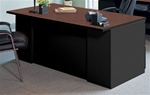 "Mayline 60"" Metal Executive Desk C1651 with Laminate Surface"