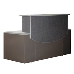 Professional Mayline Reception Desk CST25 - Office Furniture Deals