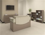 Mayline Commercial Reception Desk from the CSII Collection