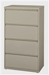 "CSII 30"" 4 Drawer Metal File Cabinet HLT304 by Mayline"