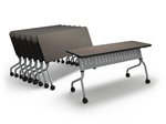 "Sync 72"" Flip Top Training Table SY1872 by Mayline"