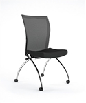 Valore Training Series Armless Mesh Chair TSH2  by Mayline