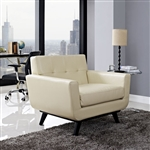 Modway Engage Bonded Leather Armchair EEI-1336