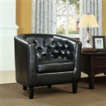 Modway Prospect Tufted Vinyl Guest Reception Chair EEI-813