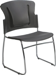 MooreCo 34706 Reflex Stackable Guest Chair