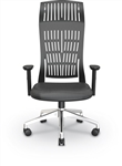 MooreCo Fly High Back Black Office Chair 34740