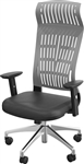 MooreCo 34743 Fly Series Gray Office Chair