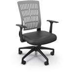 Gray Mid Back Fly Chair by MooreCo