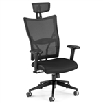 Leather Executive Mesh Chair 590-L by OFM