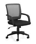 Gray Mesh Back Managers Chair 10900B by Offices To Go