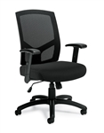 Offices To Go High Back Mesh Managers Chair 11516B