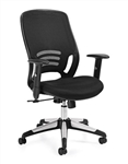 Mesh High Back Managers Chair 11685 by Offices To Go