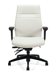 OTG Modern White Leather Office Chair