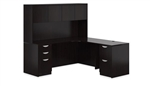 Executive Corner Desk with Hutch SL-L-AEL by Offices To Go