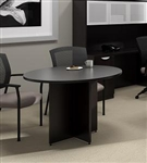 "42"" Espresso Meeting Table with Round Top by Offices To Go"
