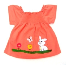 Bunny T-shirt for baby girl