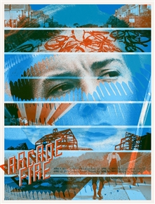 Arcade Fire Spring Tour Poster #1 by Wes Winship (Burlesque of North America/Burlesque Design)