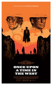 Once Upon A Time In The West (Regular Edition) Astor Theatre Poster by Oliver Barrett