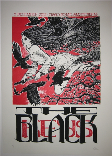 The Black Keys Concert Poster by Malleus