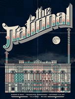 The National Concert Poster Philadelphia Mike Davis
