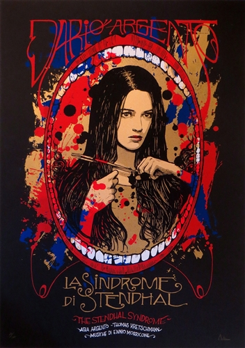 La Sindrome Di Stendhal' aka 'The Stendhal Syndrome' by Malleus for Dark City Gallery