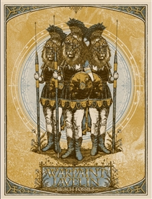Warpaint Tour Poster (Gold) by Drew Brinkley