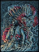 The Thing Art Print by Dan Mumford