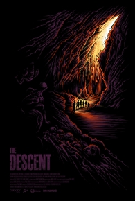 The Descent Movie Variant Edition Poster by Dan Mumford