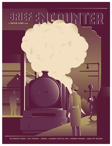 Brief Encounter Movie Poster by Edward Tuckwell
