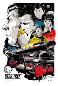 Star Trek 'To Boldly Go' Poster