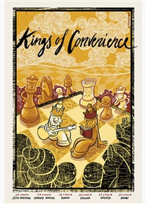 Kings Of Convenience Concert Poster by Sabrina Gabrielli