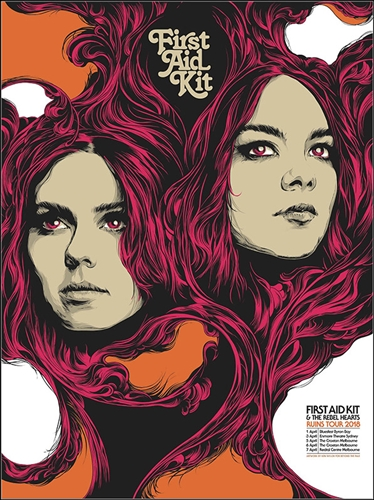 First Aid Kit Concert Poster