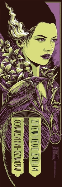 Queens Of The Stone Age + Nine Inch Nails Concert Poster