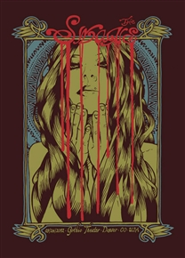 Swans Concert Poster by Malleus